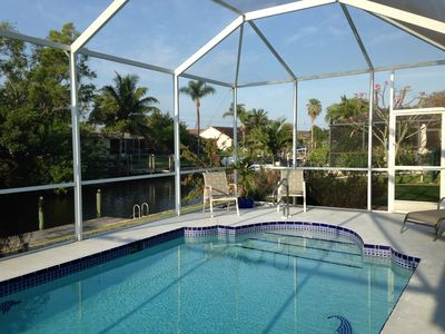 Photo for Poolside, On The Water, Close To Beaches This Is A Place To Get Away From It All
