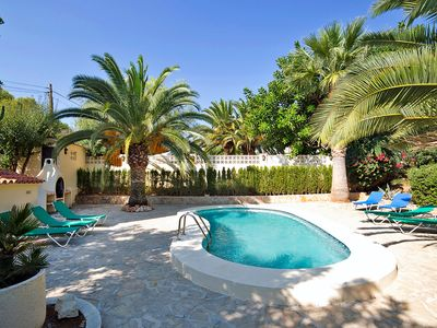 Photo for This 3-bedroom villa for up to 8 guests is located in Calpe and has a private swimming pool.........