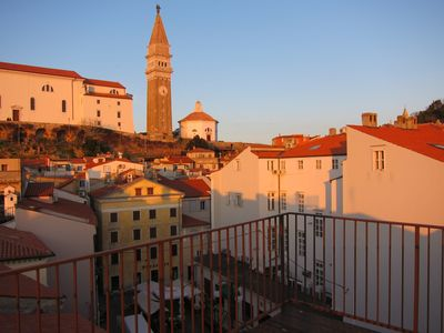 Photo for Piran Ideal Family Apartment, by the Beach, Just Renovated, Terrace , Views