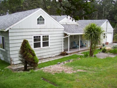 Photo for OTTER COVE A PRIVATE COZY LAKE FRONT HOME ON GARRISON LAKE PORT ORFORD OREGON