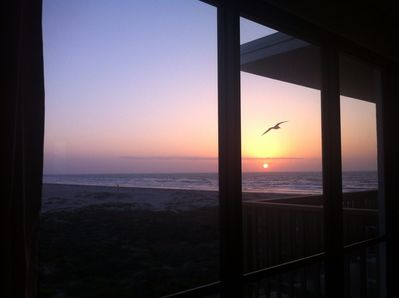 Sunrise from your bed...
