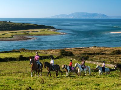 Horse riding in Co. Sligo
