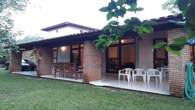 Photo for House 40 mts from the beach, WIFI, with 4 suites in the condominium of Praia do Tenorio.