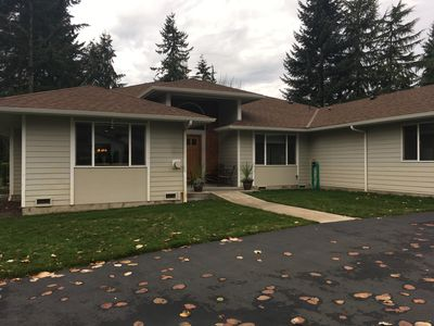 2 BD/2 BA Eastside home with large private yard and covered wrap around deck