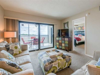 Photo for Carlos Pointe 333, 2 Bedrooms, Gulf Front, Elevator, Sleeps 6, Heated Pool