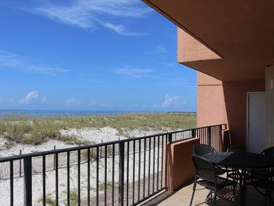Photo for Gulf front condo - Gulf Winds 101