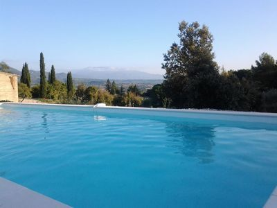 Photo for Vinsobres: George Charming cottage with pool in Drôme Provençale