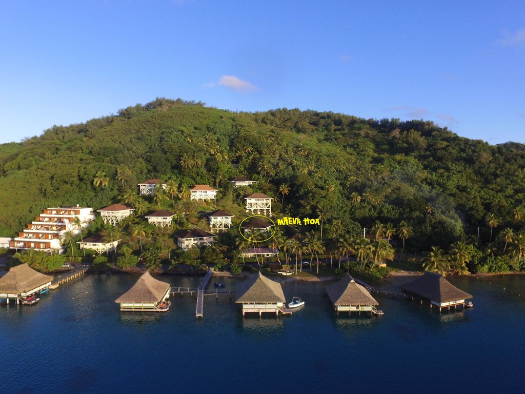 Maeva Hoa - Bora Bora Lagoon Luxury View Mountainside Bungalow