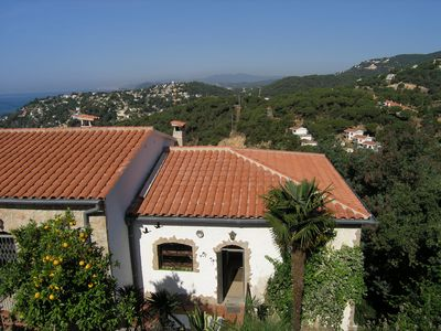 Photo for La Siesta - Beautiful apartment in a 2-family house in the Canyelles Bay