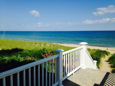 Photo for Adorable Beach Cabin just a short stroll from a Beautiful Private Beach!