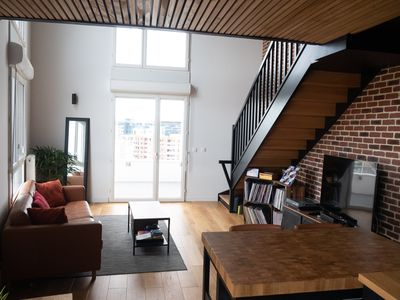Photo for Magnificent bright and modern duplex with balcony