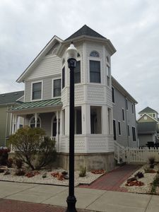 Photo for Lucky Luxe: 4th house from inlet beach & bike path/boardwalk!