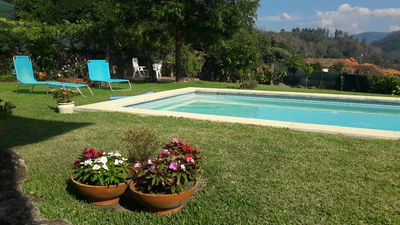 Photo for Douro Valley-Vimieiro House - Confortable private pool and garden nice landscape