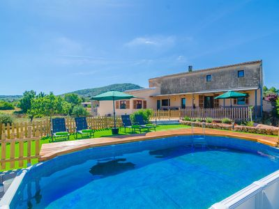 Photo for SON CIFRE (SON PRUNA) - Country house with private pool in Manacor.