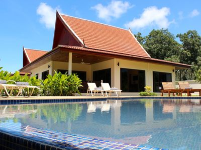 Photo for Villa Silk: Traditional Thai Villa, Private Pool, Near beach with daily maid