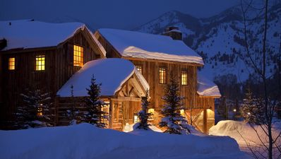 Photo for Luxury vacation rental home with views, located in Teton Village.