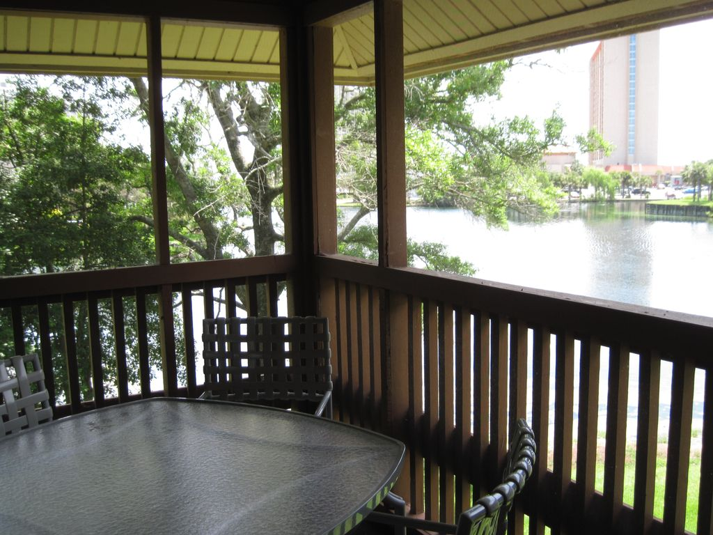 Beautiful lake view from large screened porch 5