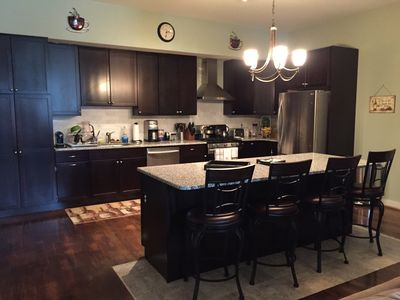 Large, modern, center city condo with deeded PARKING!!