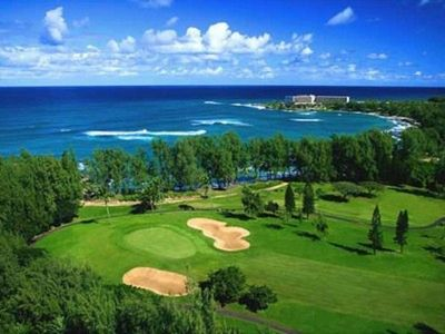one of two gold courses at turtle bay resort
