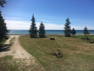 Photo for Bois Blanc Island 200ft view straits of Mackinaw Lake Huron