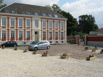 Photo for Chateau de Moulin le Comte, 4 EPIS GDF Bed and breakfast tables
