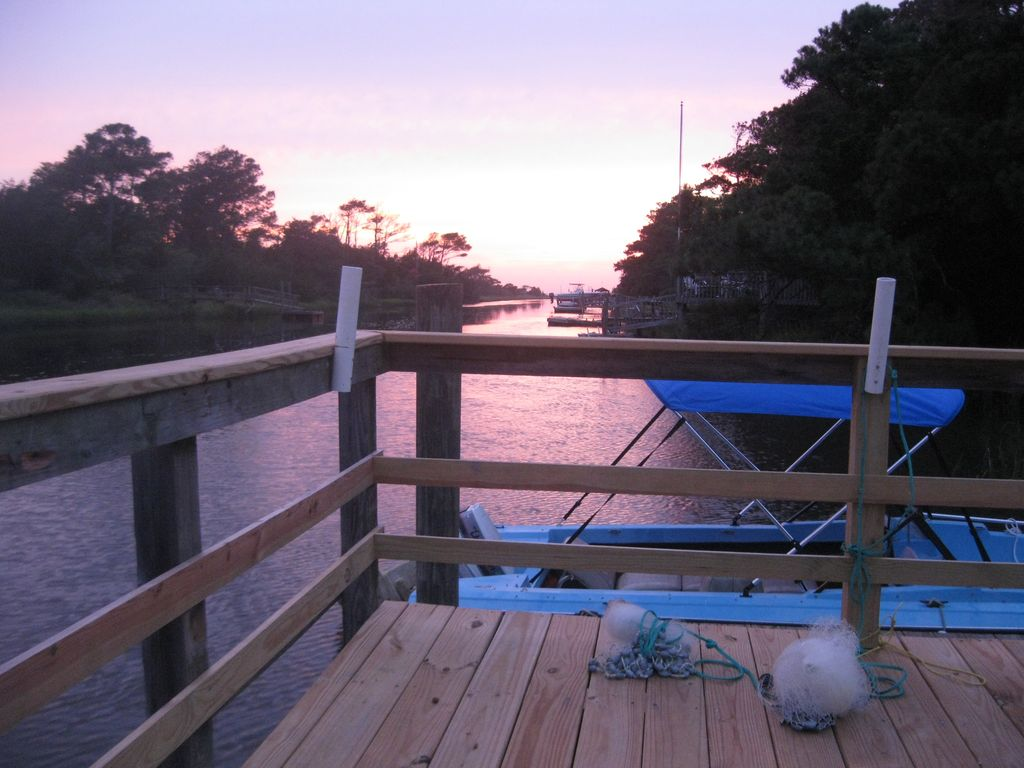 Duffy S Dock House With Deep Water Fishing Vrbo