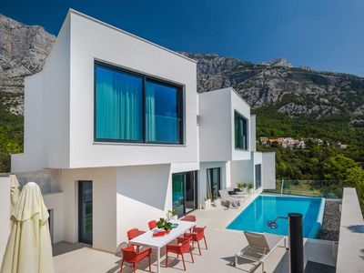 Photo for ctma235- Modern and luxurious villa with pool, up to 8 people consists of three bedrooms with separate bathrooms