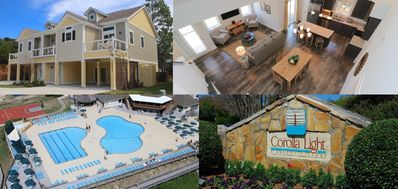 Photo for Dune Our Thing at Beacon Villas 4 Bedroom Townhouse, Pool & Corolla Light Resort Amenities!