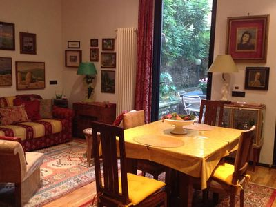 Photo for Quiet  & Charming Florentine 1BD Garden Retreat