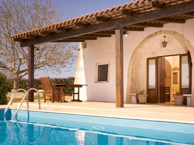 Photo for Beautifully renovated trullo, perfect for romantic or family holidays