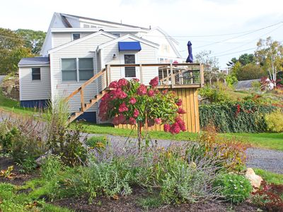 Photo for Adorable Downtown Boothbay Harbor Cottage Overlooking Mill Cove