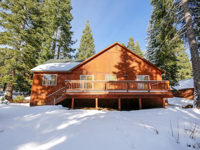 Photo for Tahoe Donner Vacation Rental or Summer Lease 2019 availability