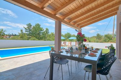 Villa Blaise in Istria (Manjadvorci) with 4 bedrooms and 32m2 Pool