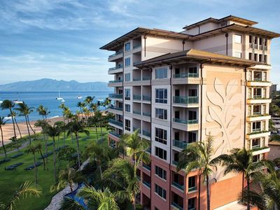 Photo for Marriott's Maui Ocean Club 2 BR Oceanfront Suite Lahaina and Napili Towers