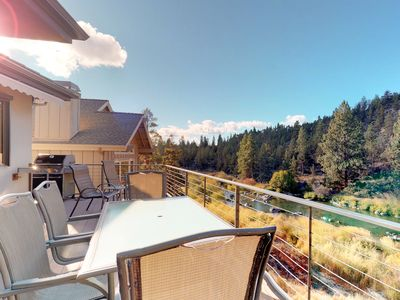 Photo for Spacious, dog-friendly home w/hot tub, view of Deschutes River