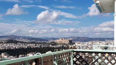 Photo for BirdsEye View, Acropolis from above, Top 7th floor