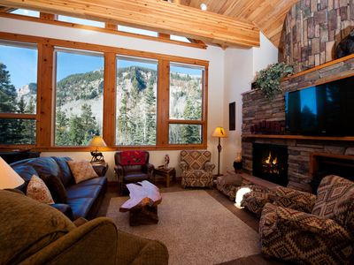 Photo for Luxury Mountain Home - Fire Pit, Large Deck - 1 Mile to Purgatory