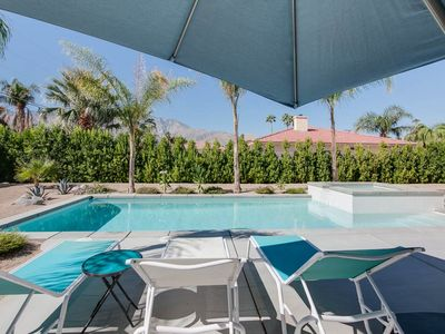Photo for Modern 3BR Palm Springs Beauty w/ Luxe Private Pool & Mountain Views