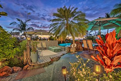 Your private paradise awaits in this Kona island vacation rental home for 10.