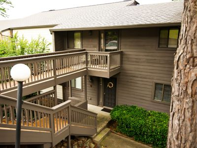 Photo for Direct Lakefront!! Clean, peaceful condo, **next to POOL**