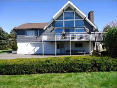 Photo for Large LakeView Poconos Vacation Home