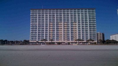 Camelot is a DIRECT Ocean front building