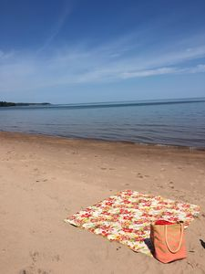 Photo for Private Beach minutes from Marquette and bike and hiking trails
