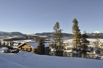 Our home is your home, with a valley view, ski resort, and Byer's peak.