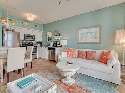 Photo for All of 2020 Rate Reduced! Seasonally HEATED Pool, across from beach - Cabana 103 at Gulf Place 30A