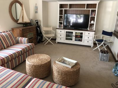 Photo for Popular Spinnaker Beach House! Close to Beach!  Pet Friendly!