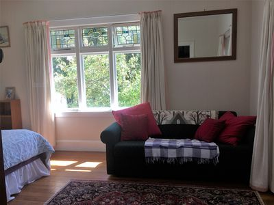Photo for Downstairs King Room with garden view, includes breakfast, closer then you think