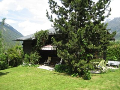 Photo for Family chalet and garden with stunning views in the foothills of Mont Blanc