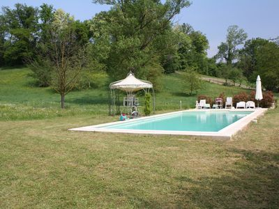 """Photo for Villa with private pool """"the fence of Sant'Ilario Baganza"""""""