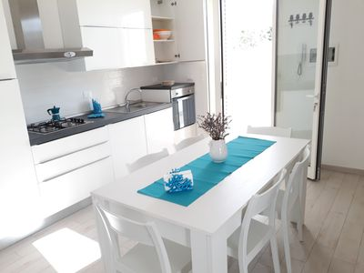 Photo for Le Pazze beach house in Torre San Giovanni with air conditioning
